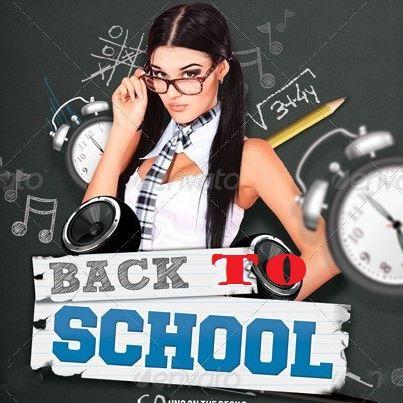 Mergvakaris atgal i mokykla